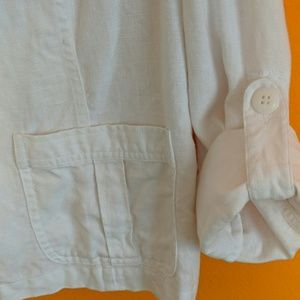 Endless Summer Feelings in a White Linen Jacket